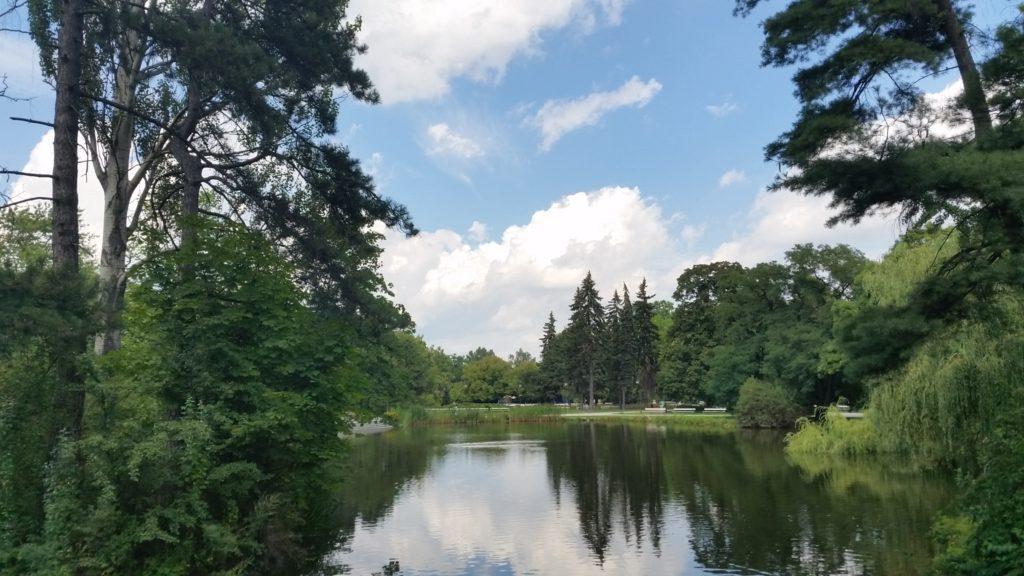 Парк Уяздовский,красивый,чистый,спокойный-5