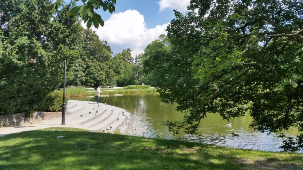 Парк Уяздовский,красивый,чистый,спокойный-6