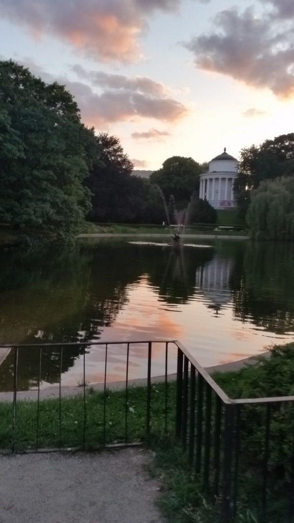 Парк Саский в Варшаве-6