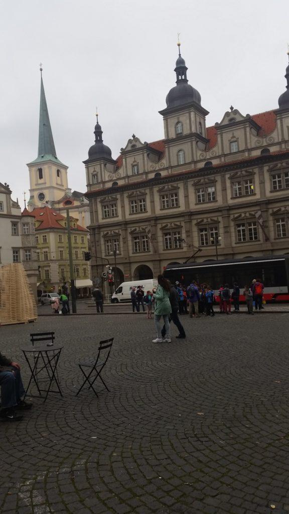 Поездка в Прагу, в октябре 2017 году