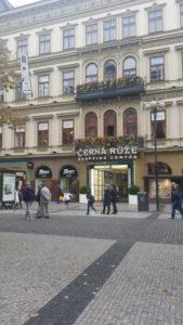 Zakupy w Pradze.