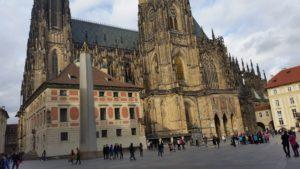Kościoł Świętego Wita w Pradze.