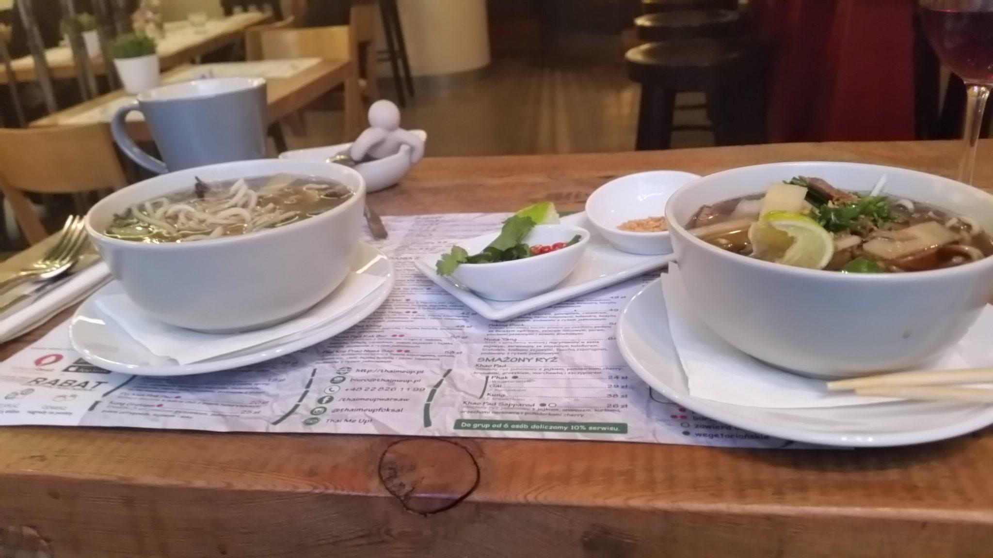 Ресторан THAI ME UP расположен на улице Фоксаль дом 16.
