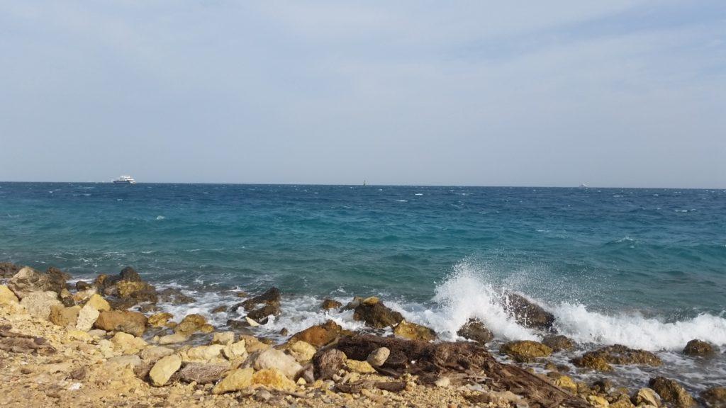 Красное море и публичный пляж Parades Beach в Хургаде-7
