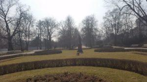 Весна пришла в парк Уяздовский в Варшаве-5