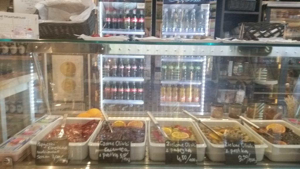 DElI MELI - греческие деликатесы в Варшаве на улице Świętokrzyska 30-10