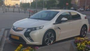 Машина в Польше